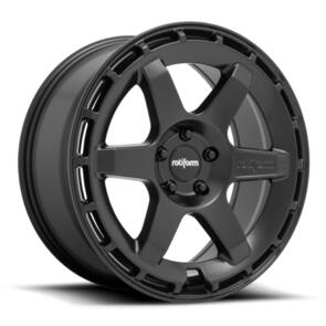 ROTIFORM R186 | KB1 MATTE BLACK