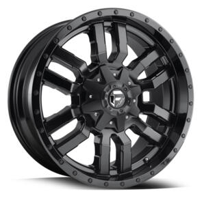 FUEL D596 | SLEDGE SATIN BLACK