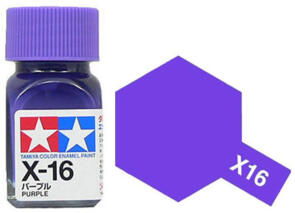 TAMIYA X16 ENAMEL PURPLE