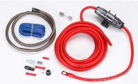 ROCKFORD FOSGATE RFK8 AMP WIRING KIT 8 GAUGE (POWER ONLY)