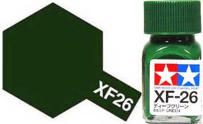 TAMIYA XF26 ENAMEL DEEP GREEN