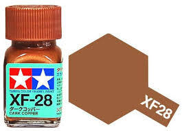 TAMIYA XF28 ENAMEL DARK COPPER