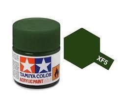 TAMIYA XF5  ACRYLIC 10ML FLAT GREEN